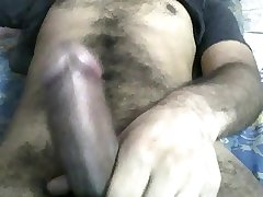 My hard dick with cum----add me only girls on skype--vikash.khanna6